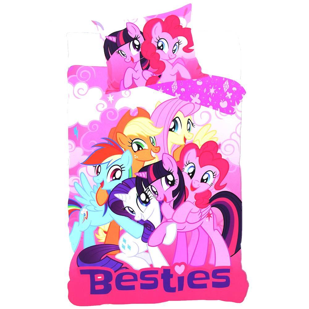 My Little Pony My Little Pony Kindermaat Twee-Zijdig Dekbedovertrek 90x140 cm