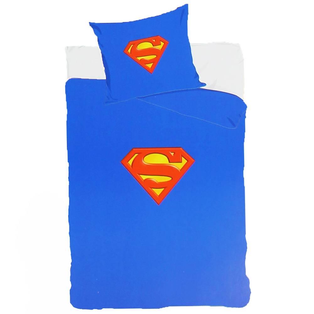 Superman DC Comics Superman Een-Persoons Dekbedovertrek 140x200 cm