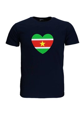 Fun & Fashion Republic of Suriname Heart T-Shirt