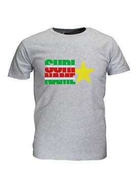 Fun & Fashion Suriname Vlag T-Shirt met Ster