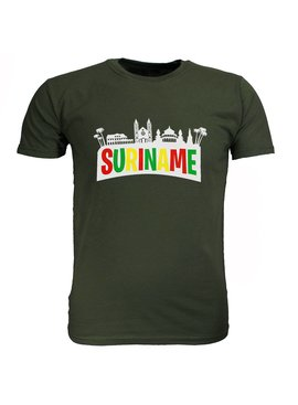 Fun & Fashion Suriname T-Shirt Fortnite Stijl