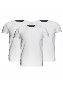 Basics Fruit Of The Loom Plain Basic Cotton T-Shirts 3 Pieces Package White