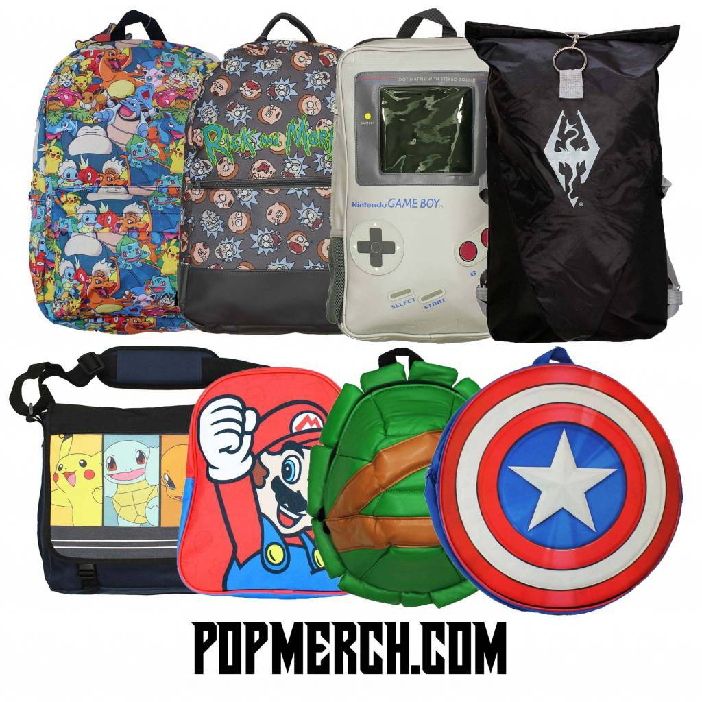 Backpacks at Popmerch.com