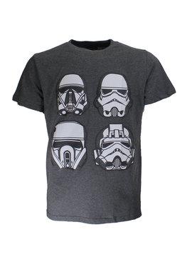 Star Wars Star Wars Storm Trooper T-Shirt Four Masks