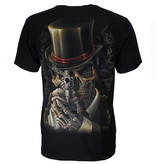 Rock Eagle / Biker T-Shirts Steampunk Skull Glow in the Dark T-Shirt