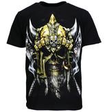 Rock Eagle / Biker T-Shirts Viking Skull T-Shirt Glow in the Dark