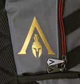 Assassin's Creed Assassin's Creed Odyssey Technical Backpack with Gold Foil Print Grey / Black / Gold