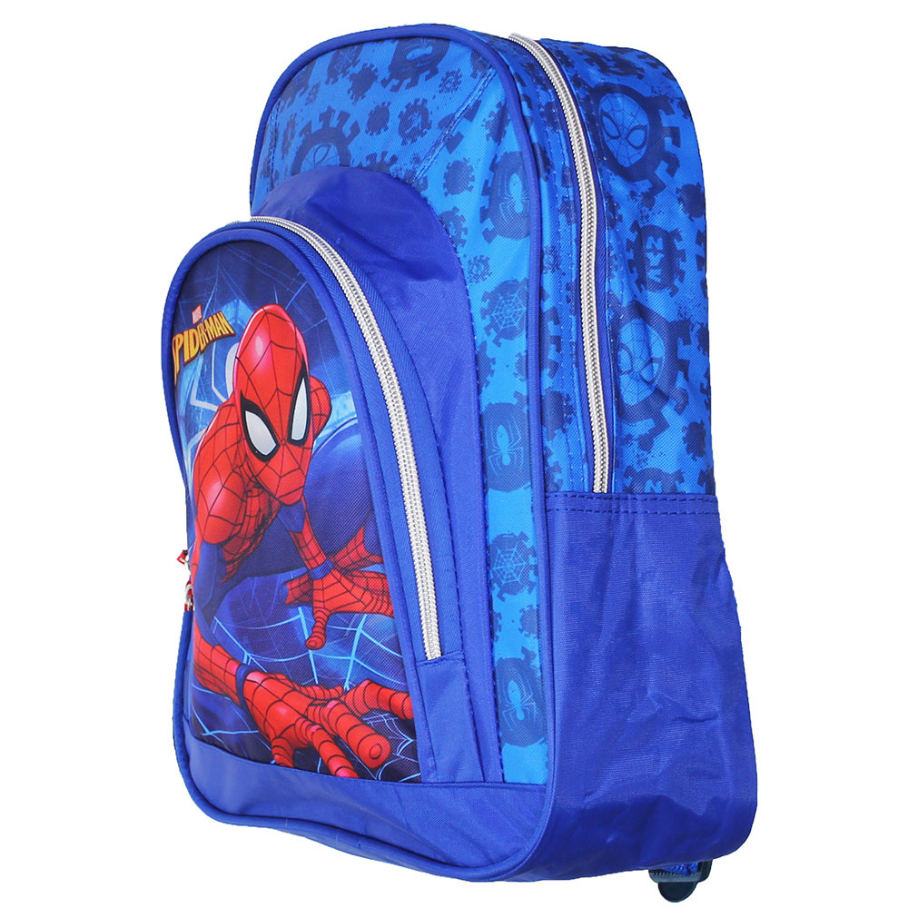Marvel Comics: The Avengers, Captain America, Spider-Man, The Hulk, Thor, Black Panther, Deadpool, Ant-Man, Iron Man, The Punisher Spiderman Backpack Kids Official