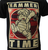 Super Mario Bros Nintendo Super Mario Hammertime Koopa T-Shirt Men Black