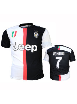 Juventus FC Juventus Replica Cristiano Ronaldo CR7 Home Football T-Shirt Season 2019/2020