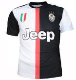Voetbal Kleding / Football Clothing Juventus Replica Matthijs de Ligt Home Football T-Shirt Season 2019/2020 Black / White