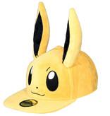 Pokémon Pokémon Eevee Plush Snapback Cap with Ears Official