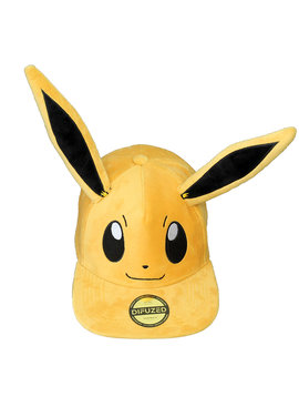 Pokémon Pokémon Eevee Pluche Snapback Cap Pet met Oren