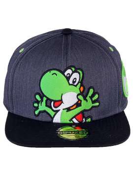 Super Mario Bros Nintendo Super Mario Yoshi with Egg Snapback Cap