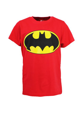 Batman DC Comics Batman Logo Kinder T-Shirt Rood