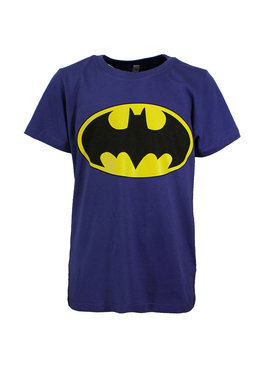 Batman DC Comics Batman Logo Kids T-Shirt Blue