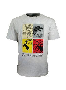 Game of Thrones Game of Thrones Heirs to the Throne T-Shirt Grijs