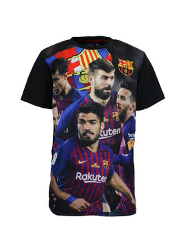 FC Barcelona F.C. Barcelona Luis Suarez, Gerard Pique, Lionel Messi, Ivan Rakitic, Coutinho T-Shirt