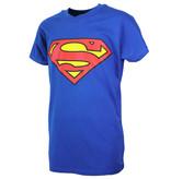 DC Comics: Superman, Batman & The Joker Superman Logo T-Shirt Kids Blue Light / Dark Coloured