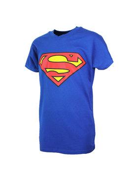 Superman Superman Logo T-Shirt Kids Blue