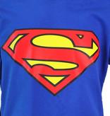 Superman Superman Logo T-Shirt Kinderen Blauw