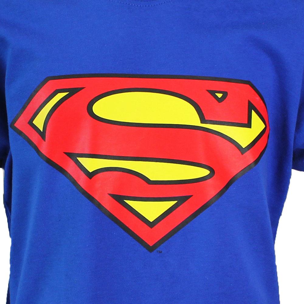 Superman Superman Logo T-Shirt Kinderen Licht Blauw