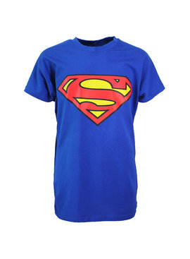 Superman Superman Logo T-Shirt Kids Blue