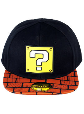 Super Mario Bros Nintendo Super Mario Bros Brick Block Snapback Cap Pet