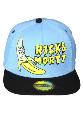 Rick and Morty Rick & Morty Banaan Snapback Cap Pet