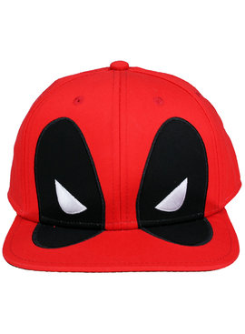 Deadpool Marvel Comics Deadpool Big Face Snapback Cap