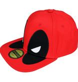 Deadpool Marvel Comics Deadpool Big Face Snapback Cap Red