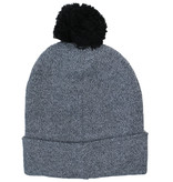 Marvel Comics: The Avengers, Captain America, Spider-Man, The Hulk, Thor, Black Panther, Deadpool, Ant-Man, Iron Man, The Punisher Marvel Classic Logo Beanie Hat Grey with Pom Pom