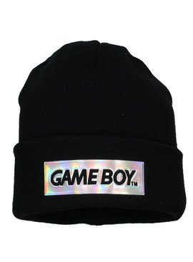 Nintendo Nintendo Game Boy Logo Block Beanie Hat