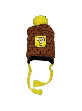 Super Mario Bros Nintendo Super Mario Block Laplander Beanie Hat
