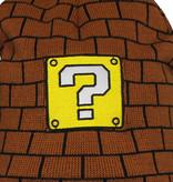 Super Mario Bros Nintendo Super Mario Block Laplander Beanie Muts