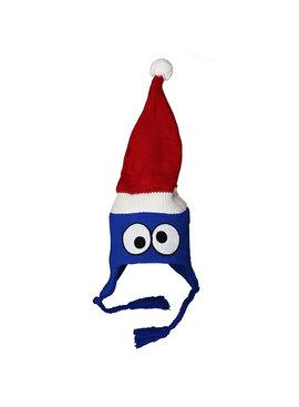Sesame Street / Sesamstraat Sesame Street Cookie Monster Winter Christmas Laplander Beanie