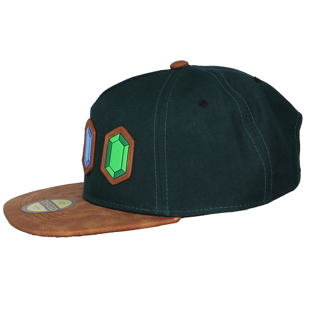 The Legend of Zelda The Legend of Zelda Rupee Rupees Snapback Cap  Green