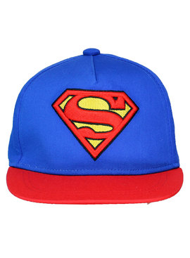 DC Comics: Superman, Batman & The Joker Superman Classic Logo Adjustable Kids Snapback Cap