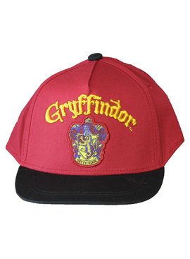 Harry Potter Harry Potter Gryffindor Emblem Snapback Cap Red Black Adults