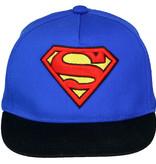 DC Comics: Superman, Batman & The Joker Superman Classic Logo Adults Adjustable Snapback Cap Blue/Black/Red