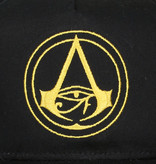 Assassin's Creed Assassin's Creed Origins Crest Logo Adults Snapback Cap with Details under Bill Black