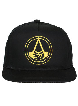 Assassin's Creed Assassin's Creed Origins Crest Logo Adults Snapback Cap Black