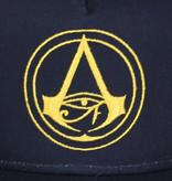 Assassin's Creed Assassin's Creed Origins Crest Logo Kids Snapback Cap met Details onder Klep Donkerblauw