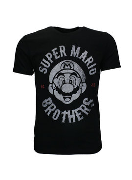 Super Mario Bros Nintendo Super Mario Bros Biker Men T-Shirt