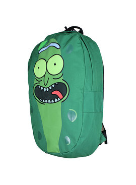 Rick and Morty Rick and Morty Pickle Rick Shaped Backpack