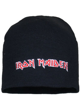 Metal & Rock Metal & Rock Iron Maiden Logo Beanie Hat
