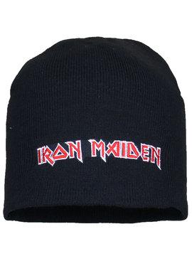 Metal & Rock Metal & Rock Iron Maiden Logo Beanie Muts