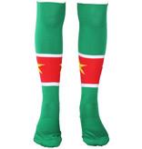 Voetbal Kleding / Football Clothing Suriname Voetbalsokken Geel / Groen / Rood