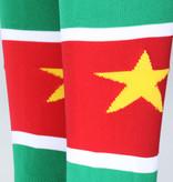 Suriname Suriname Voetbalsokken Geel / Groen / Rood