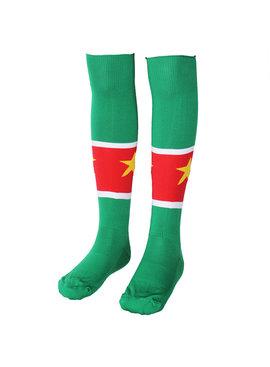 Voetbal Kleding / Football Clothing Suriname Voetbalsokken